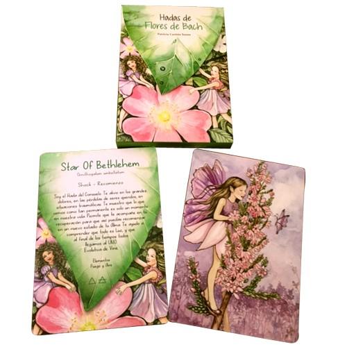 cartas flores de bach hadas
