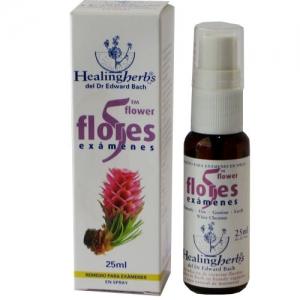 spray para examenes flores de bach