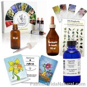 kit promo terapeutas florales niños