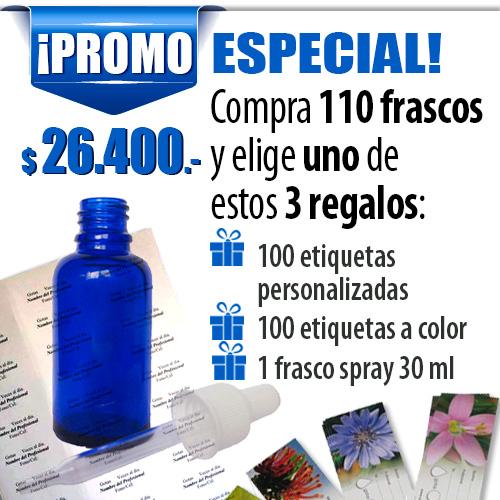 frascos para flores de bach oferta