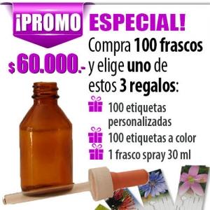 oferta frascos para flores de bach