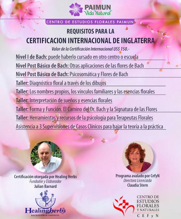 certificacion flores de bach