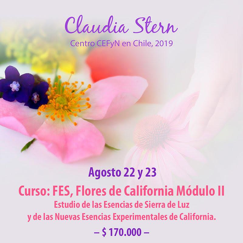 curso flores de california