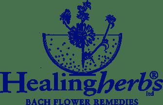 logo healing herbs flores de bach